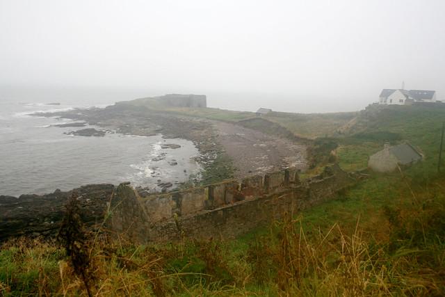 The coast at Boddin, Angus