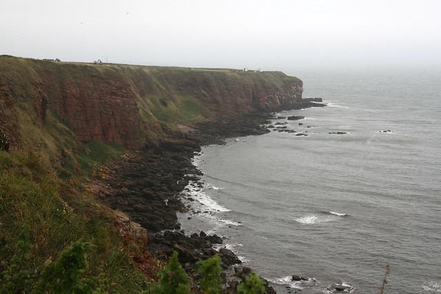 The coast near Auchmithie