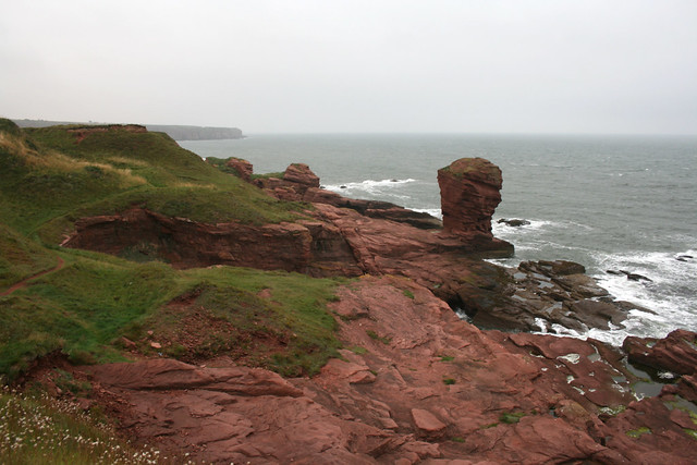 The coast near Arbroath