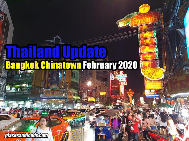 bangkok chinatown 2020