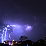 19. Veebruar 2020 - 19:07 - Three minutes of lightning over the northern suburbs of Brisbane last night.