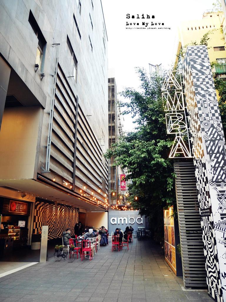 台北西門町餐廳amba吃吧食記咖啡廳下午茶可久坐不限時 (1)