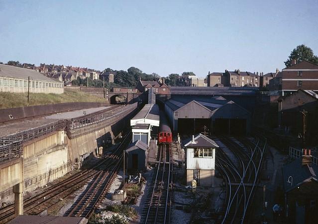 Drayton Park station in 1975