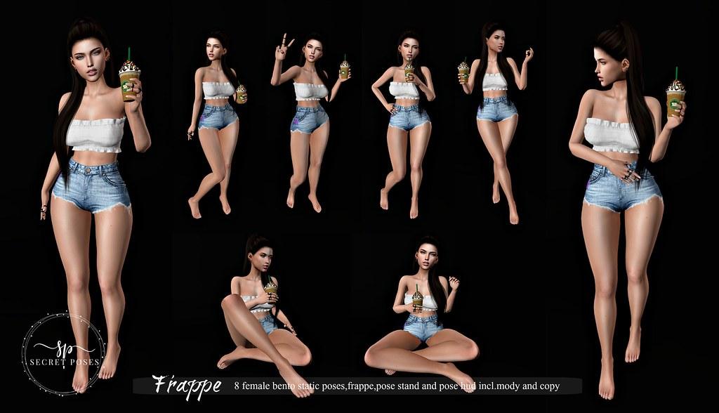 Secret Poses – Frappe