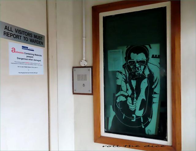 Paddington Green Police Station`Cloded Down
