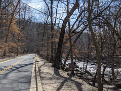Rock Creek Park in winter, minus snow