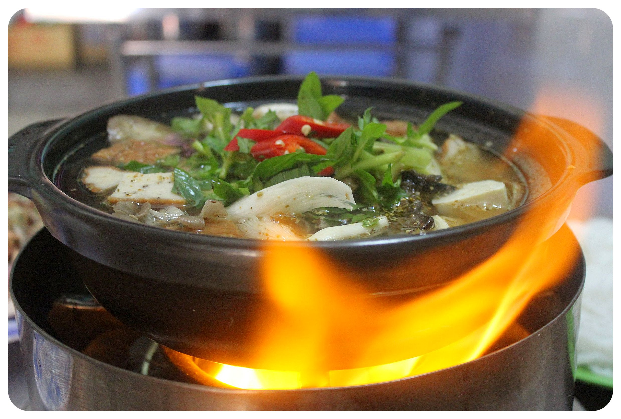 rach gia hot pot chay