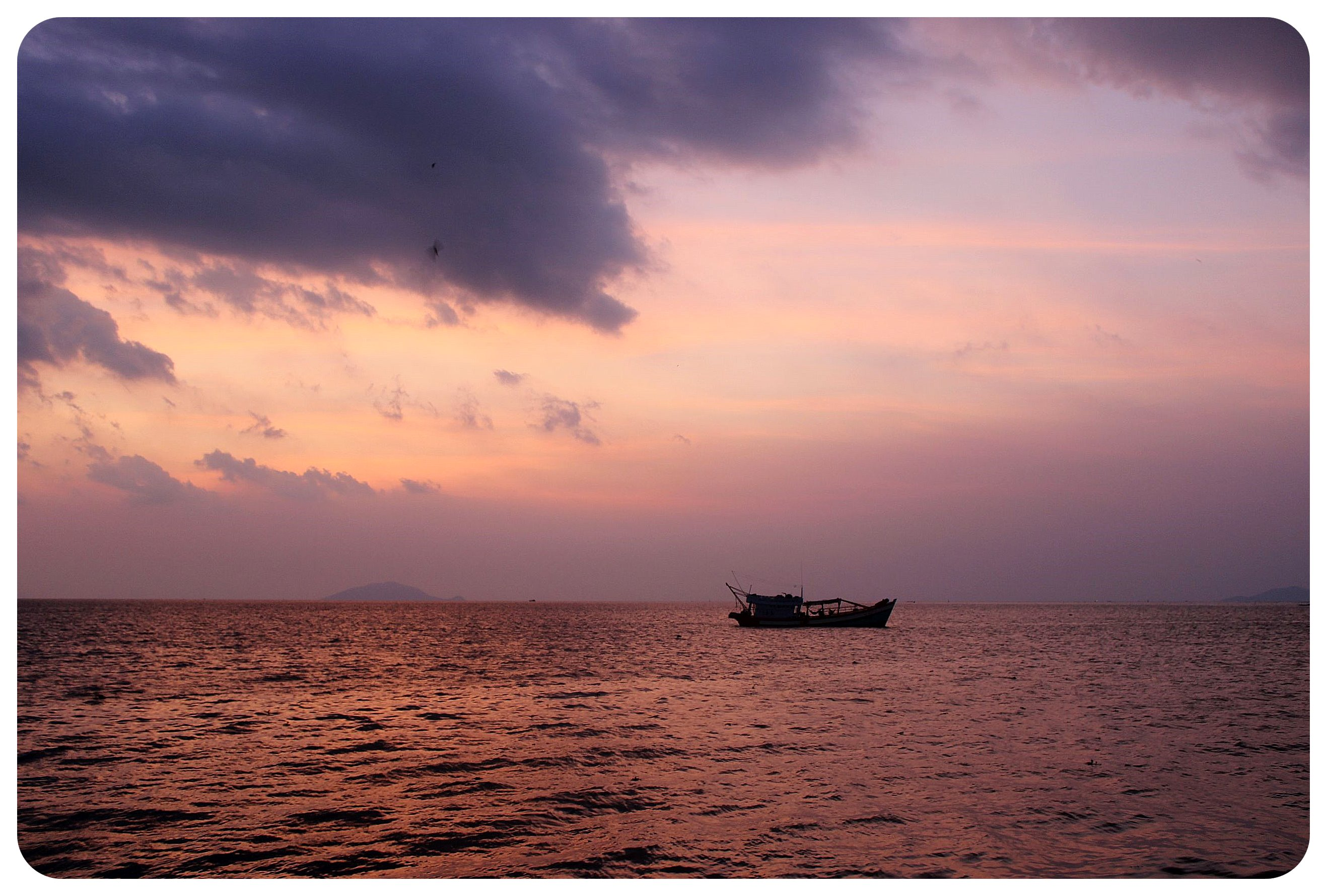 rach gia sunset