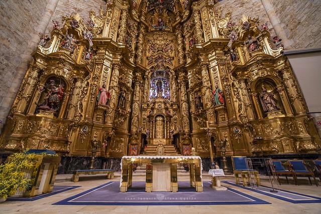 El Retablo mayor de la Basílica de Elorrio