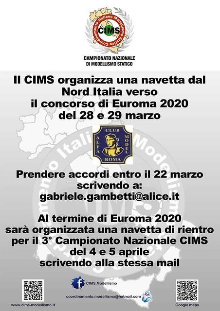 Euroma 2020 - navette