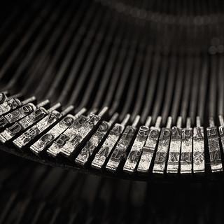 The old Balinese typewriter ...