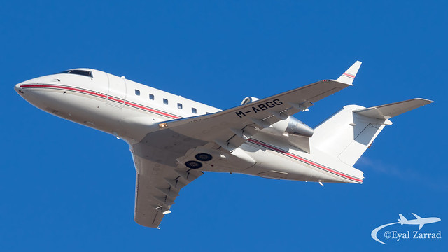 TLV - Private Bombardier Challenger 600 M-ABGG