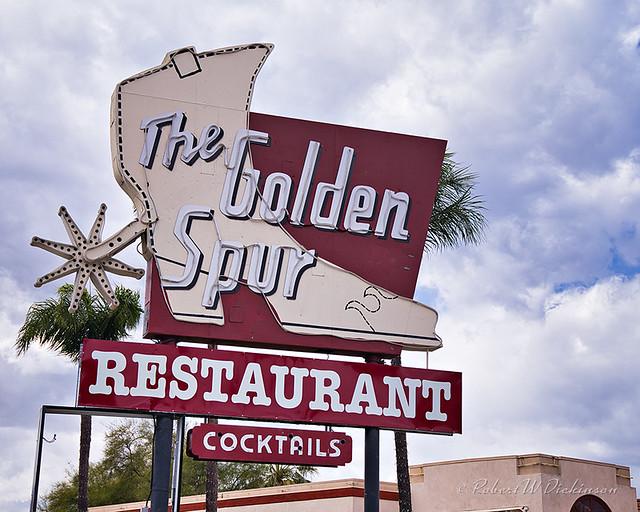 The Golden Spur Restaurant on Route 66 in Glendora, California