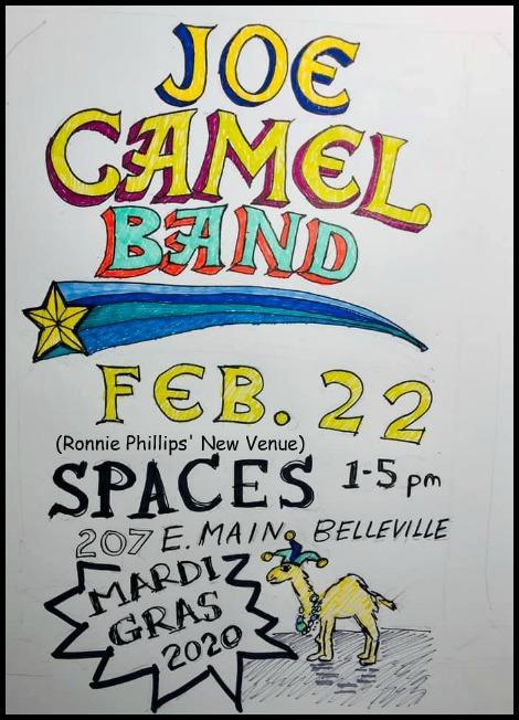 Joe Camel Band 2-22-20
