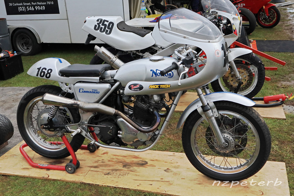 1970 Norton Commando 750 The 14th Burt Munro Challenge Was Flickr