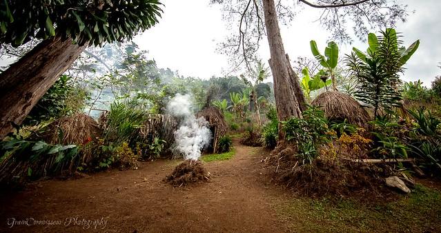 Asaro village, PNG