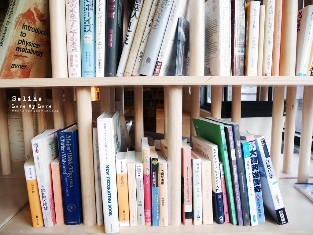 台北西門町不限時餐廳吃吧可看書久坐看漫畫閱讀氣氛好咖啡廳 (3)