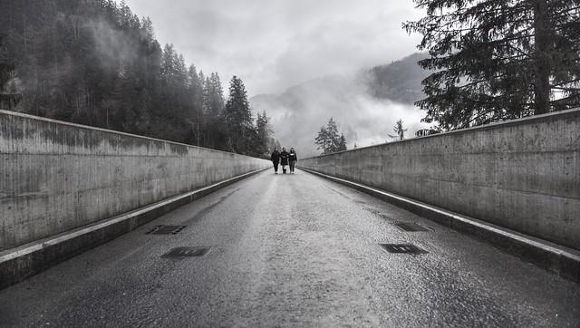 Walking in unison