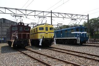 電気機関車撮影会