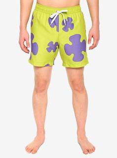一秒變身海綿寶寶最好的朋友~Hot Topic《海綿寶寶》派大星COSPLAY泳褲(SpongeBob SquarePants PATRICK COSPLAY SWIM TRUNKS)