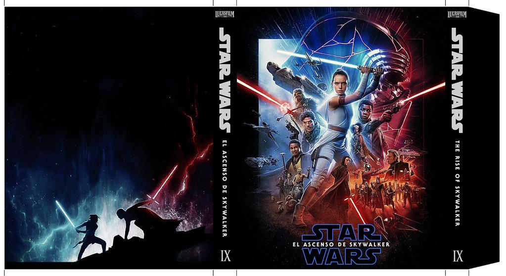 Star Wars 9 El Ascenso De Skywalker Bluray Slipcover Ste Flickr