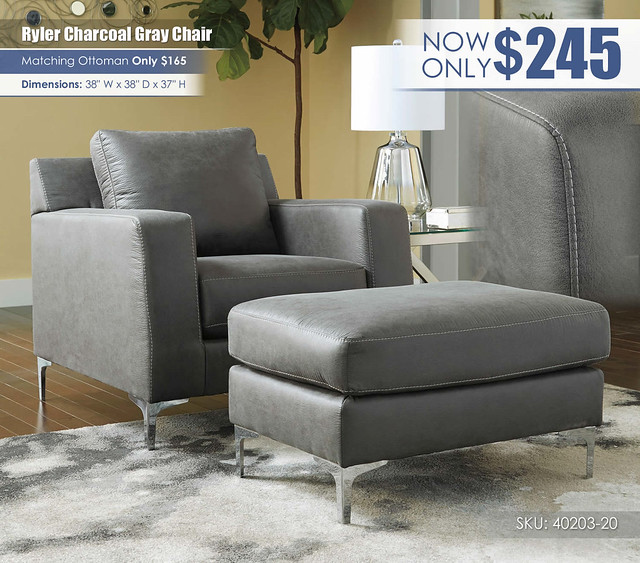 Ryler Charcoal Gray Chair_40203-20