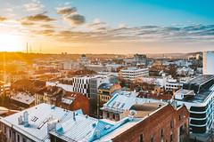 Roofs | Kaunas aerial
