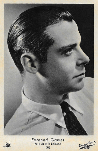 Fernand Gravey in The King and the Chorus Girl (1937)