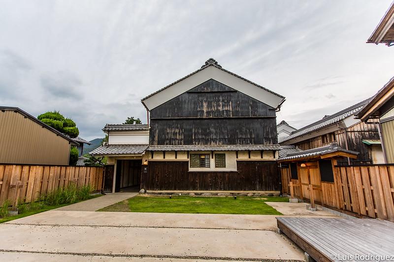 Tienda de papelwashi Washi-nary y hostal Nipponia Mino