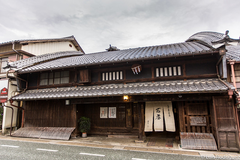 Tres udatsu de la antigua residencia