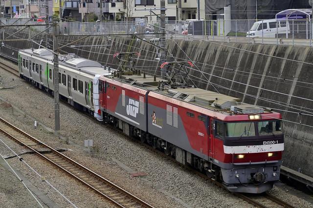 9171レ 阿武隈急行 甲種輸送