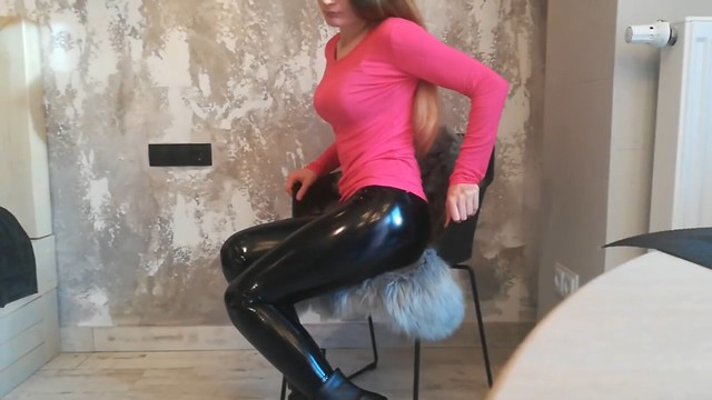 Latex and boots (3)