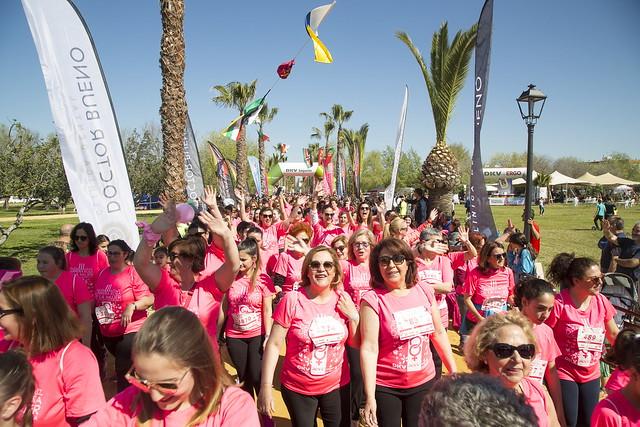 Salida III Carrera Rosa de la Mujer de Los Palacios y V- (foto archivo)