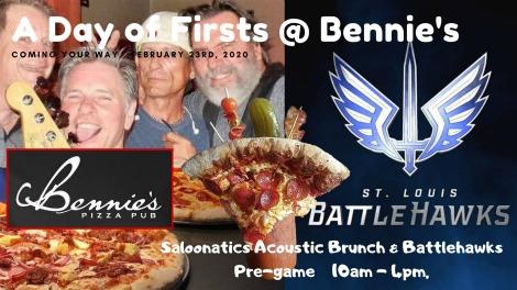 Bennie's Pizza Pub 2-23-20