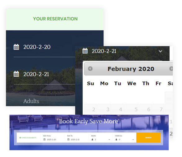 Ap Booking PrestaShop Booking Reservation Module - Booking Room or Ticket by Filtering At Ease