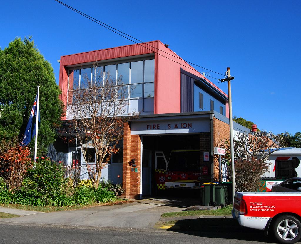 Fire Station, Forestville, Sydney, NSW.