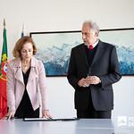 Qua, 19/02/2020 - 10:45 - A docente Cristina Graça tomou posse como presidente do Conselho Técnico Científico da Escola Superior de Dança (ESD). A assinatura do termo de posse decorreu nos Serviço da Presidência do IPL, no dia 19 de fevereiro de 2020.
