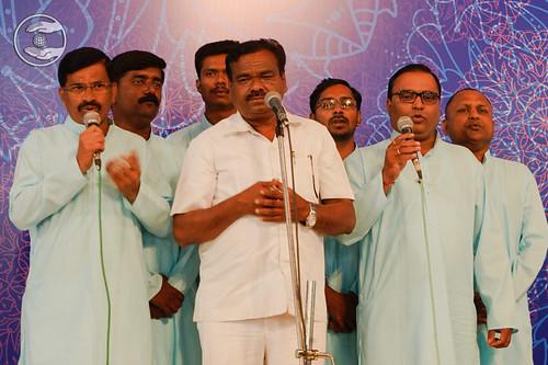 Devotional song by Rajendra Chhirsagar Ji from Sangli