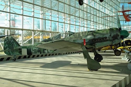 Focke Wulf FW-190D at the Museum of Flight, Seattle