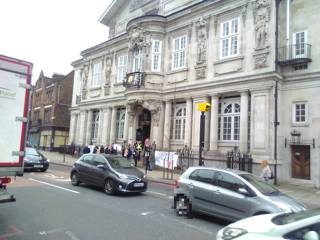 UCU Picket at Depford Town Hall