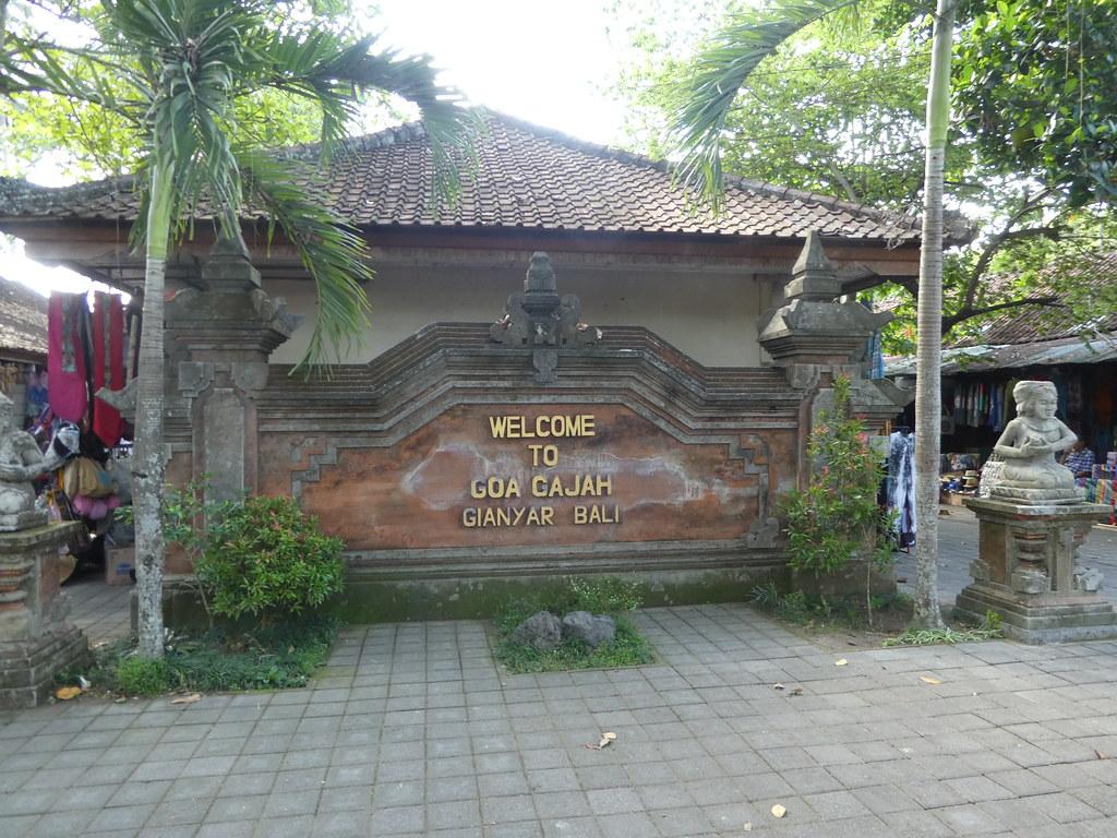 Goa Gajah (Elephant Cave) near Ubud, Bali