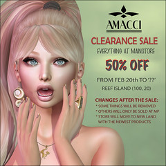 Amacci clearance Sale 2020