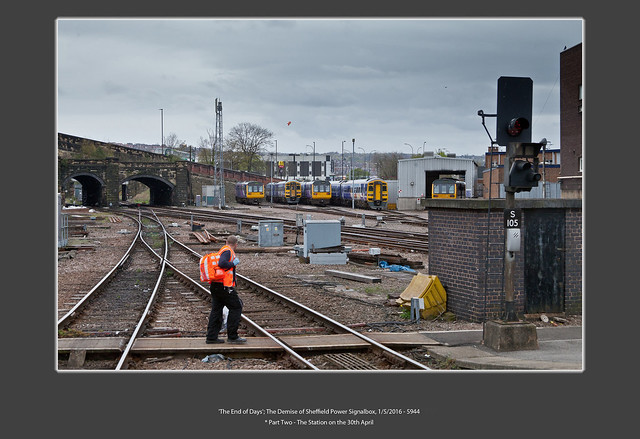 'The End of Days'; The Demise of Sheffield Power Signalbox, 1/5/2016 - 5944