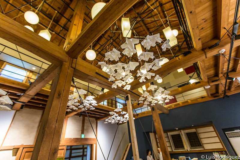 Lámparas de papel washi en Washi-nary