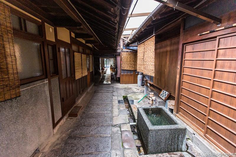 Zona de elaboración de sake