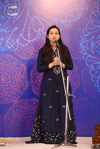 Simran Ji, expresses her views
