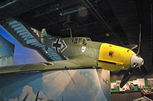 Messerschmitt Bf-109 E-3 at the Museum of Flight, Seattle