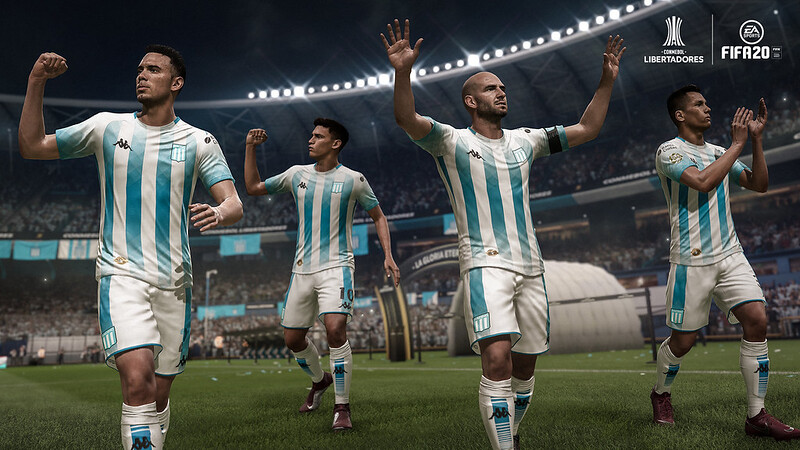 FIFA 20 on PS4