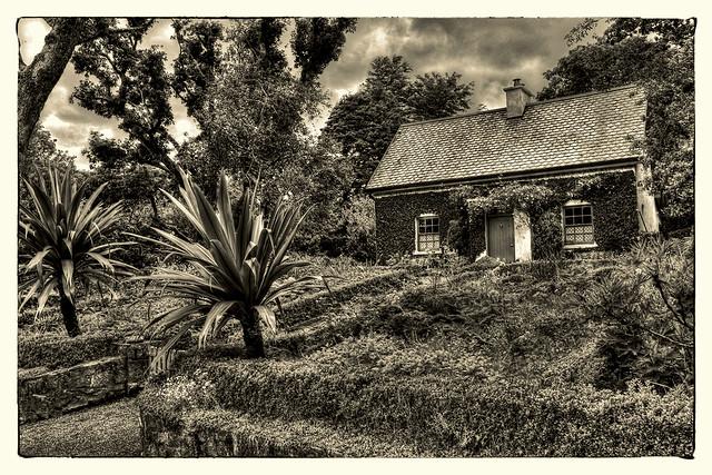 Church Hill IR - Glenveagh Castle garden 02