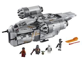 LEGO 75292《曼達洛人》「剃刀冠號 (The Razor Crest)」、75317 BrickHeadz 系列「曼達洛人」、「尤達寶寶 The Child」發表!